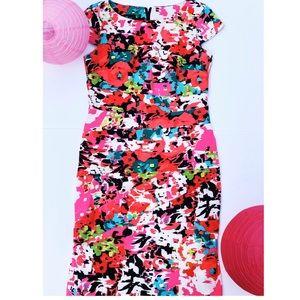 AGB Multicolored Dress Size 6